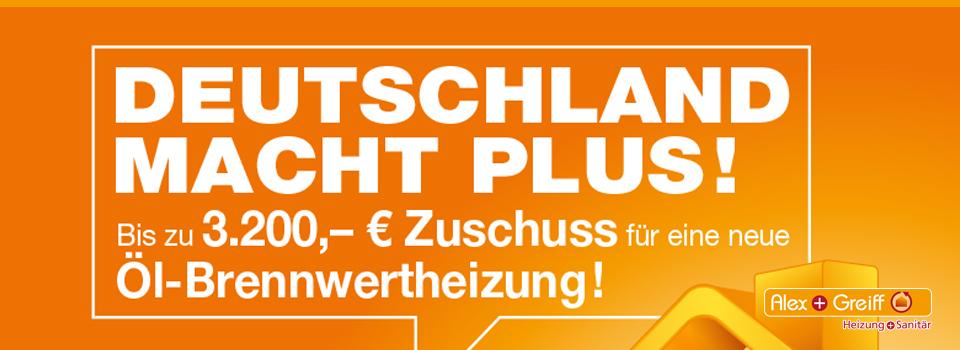 Deutschland macht Plus!
